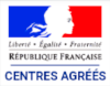 Republique française, centre agréés